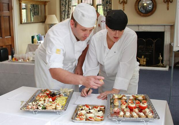 Canape Challenge 1 - Culinary Team Building Activity